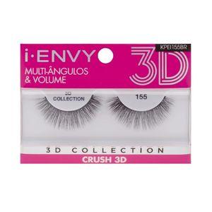 Cílios Postiços Kiss New York i-Envy Crush 3D Collection 155