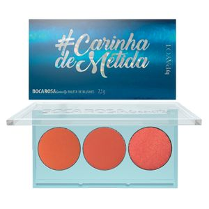 Paleta de Blush Payot Boca Rosa Beauty Carinha de Metida 3 Cores 7,5g