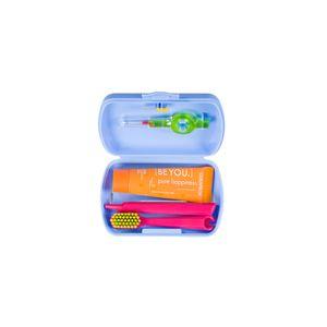 Kit Viagem Curaprox Travel Set CS5460 - Cores Sortidas