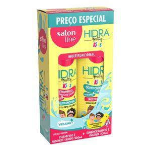 Shampoo + Condicionador Salon Line Multy Kids 300ml